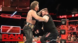 Download Chris Jericho wants Kevin Owens at WrestleMania: Raw, March 6, 2017 Video