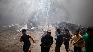 Download Scenes from Today's Violence at the Gaza Border | NYT News Video