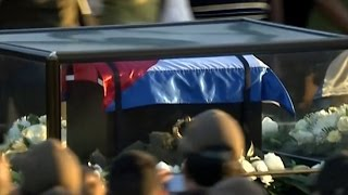 Download Fidel Castro's ashes begin final journey across Cuba Video