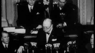 Download Winston Churchill 'Now we are Masters of Our Fate' Speech Video