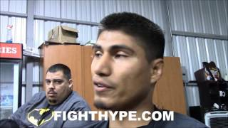 Download MIKEY GARCIA GIVES DETAILED BREAKDOWN OF AMATEUR CLASH WITH TERENCE CRAWFORD Video