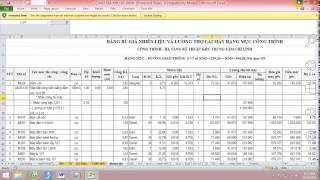 Download Hướng dẫn Hồ sơ thanh quyết toán, Lập dự toán bù giá trượt giá trong Hợp đồng (ThS.KS.Hải Hậu) Video