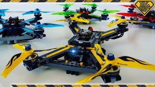 Download 80Mph Racing Drones made from Lego Technics Video