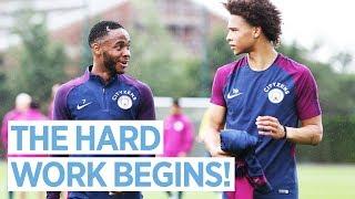 Download HIGH INTENSITY INTERVAL TRAINING! | Man City Pre Season Training Day 2 Video
