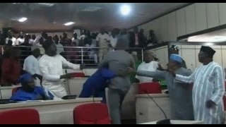 Download Benue Lawmakers Fight Over House Leadership - 23/06/15 Video