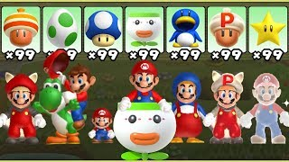 Download New Super Mario Bros. U - All Power-Ups Video
