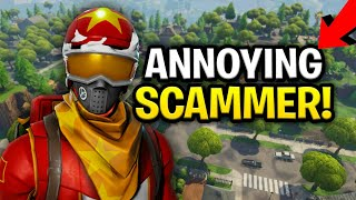 Download Annoying Dumb Scammer Scams Himself! (Scammer Get Scammed) Fortnite Save The World Video