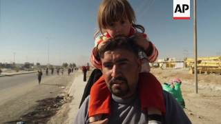 Download Residents of towns near Mosul return home Video