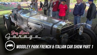 Download Woodley Park French and Italian Car Show, Part 1 - Jay Leno's Garage Video
