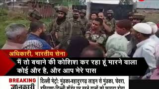 Download Indian Army explains to people of kashmir how stone-pelters are destroying peace in valley Video