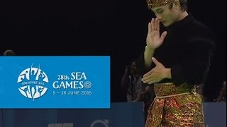 Download Pencak Silat Artistic Male Singles- Finals Highlights 2nd(Day 5)   28th SEA Games Singapore 2015 Video