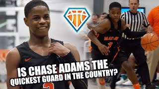 Download Is 5'8 Chase Adams the QUICKEST GUARD IN THE COUNTRY?! | Nike EYBL Highlights Video