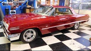 Download 1963 Chevrolet Impala Street Rod Steve Holcomb Pro Auto Custom Interiors Video