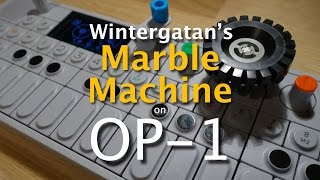 Download Wintergatan Marble Machine - live on Teenage Engineering OP-1 Video
