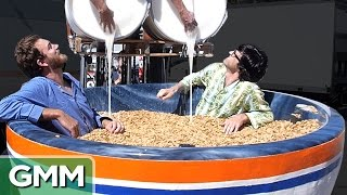 Download Giant Cereal Bowl Bath Video