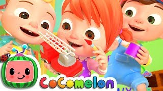 Download The Car Color Song | CoCoMelon Nursery Rhymes & Kids Songs Video