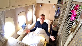 Download Emirates NEW 777 FIRST CLASS Private Suite Review Video