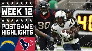 Download Chargers vs. Texans (Week 12) | Game Highlights | NFL Video