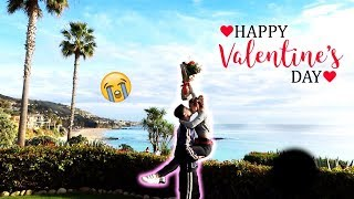 Download SURPRISING MY PREGNANT FIANCE FOR VALENTINES DAY!!! Video