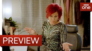 Download Sharon Osbourne struggles with the X Factor rules - Tracey Breaks the News - BBC One Video