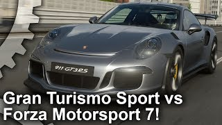 Download Tech Analysis: Gran Turismo Sport vs Forza Motorsport 7 Video