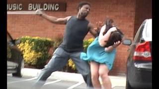 Download Stupid guy hits girlfriend! Video