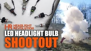 Download 15 Brands LED Headlight Bulb Shoot-Out! Which one's the best? Video