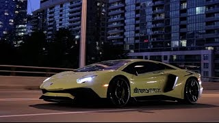 Download Toronto Late Night Madness w/ Aventador LP750-4 SV ft. Armytrix Titanium Exhaust By YST Tuning Video