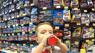 Download HOT WHEELS E GUARANÁ NA LOJA DE BRINQUEDOS TOYS R US - Hot Wheels Toys Are Us Toy Shop Video