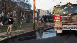 Download Squad 10 Willow Grove Responding To House Fire On Christmas Video