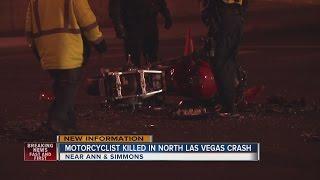 Download Motorcyclist killed in North Las Vegas crash identified Video