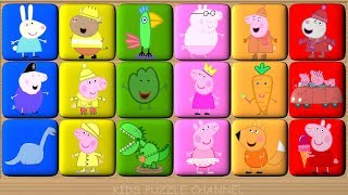 Download Peppa Pig Learn Colors Game - Video for Kids - Blocks Puzzle Video