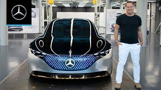 Download The VISION EQS Presented by Daimler Chief Design Officer Gorden Wagener Video