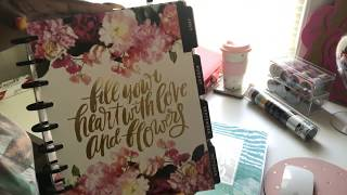 Download Setting up my 2018 Happy Planner live Video