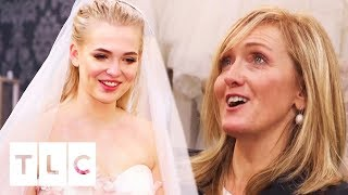 Download An Edgy And Quirky Dress For A 'Wild Child' Bride | Say Yes To The Dress UK Video