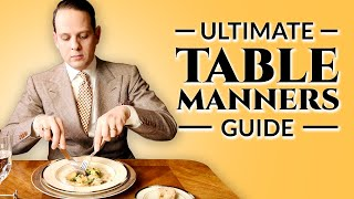 Download Table Manners - Ultimate How-To Guide To Proper Dining Etiquette For Adults & Children Video