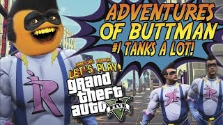 Download Adventures of Buttman #1: TANKS A LOT! (Annoying Orange GTA V) Video