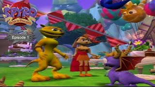 Download [Let's Play FR] Spyro 4 Enter The Dragonfly - Episode 1 : Le Royaume des Dragons Video