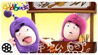 Download Oddbods - FOOD FAMISHED | Funny Cartoons For Kids | The Oddbods Show Video