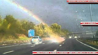 Download Fotografian el final de un Arco iris en Inglaterra 22/09/2011 Video