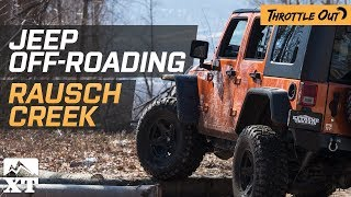 Download Jeep Wranglers Wheel Rausch Creek + 2018 Wrangler JL News! - Throttle Out Video