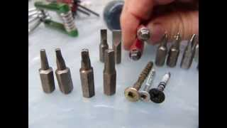 Download Screwdriver types and sizes (some) Video