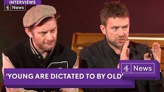 Download Gorillaz interview (extended): Politics, Brexit, Humanz discussed by Damon Albarn and Jamie Hewlett Video