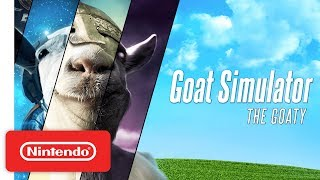 Download Goat Simulator: The GOATY - Launch Trailer - Nintendo Switch Video