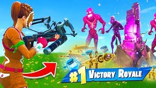 Download WINNING With *ONLY* Zombie Loot In Fortnite Video