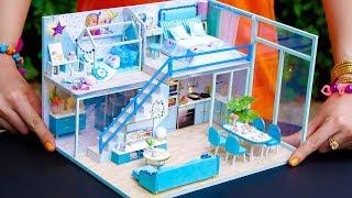 Download 5 DIY Miniature Dollhouse Rooms Frozen Elsa Video