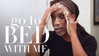 Download Jackie Aina's Nighttime Skincare Routine   Go To Bed With Me   Harper's BAZAAR Video