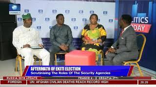Download Ekiti Election: Observer Laud Security Agencies' Conduct |Politics Today| Video