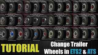 Download ✅ [TUTORIAL] How to Install/Change Trailer Wheels in ETS2/ATS Video