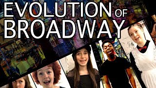 Download EVOLUTION OF BROADWAY! Ft. Dear Evan Hansen, Les Mis, Rent, Hamilton & More | Spirit YPC Video
